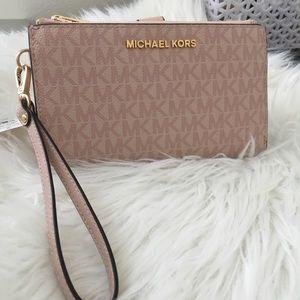 Michael Kors Large Double Zipper wallet
